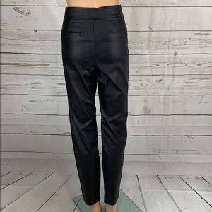 Vegan Leather High Rise Leggings
